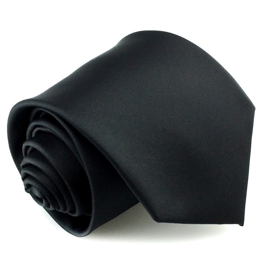 black neck ties