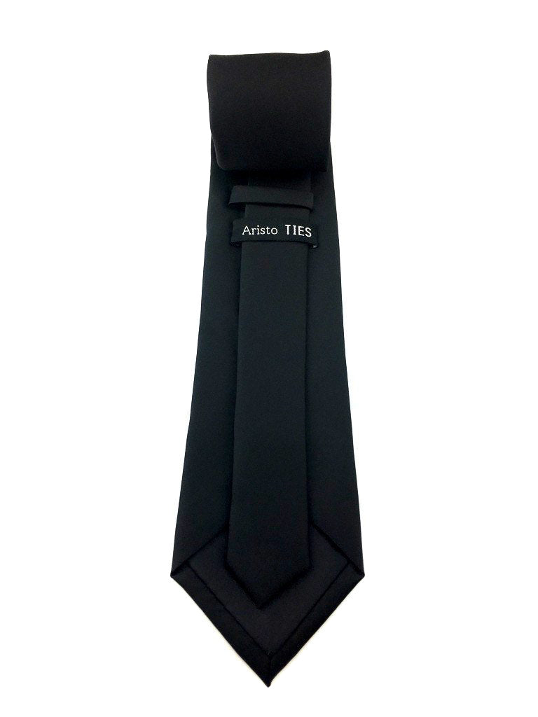 black wedding ties