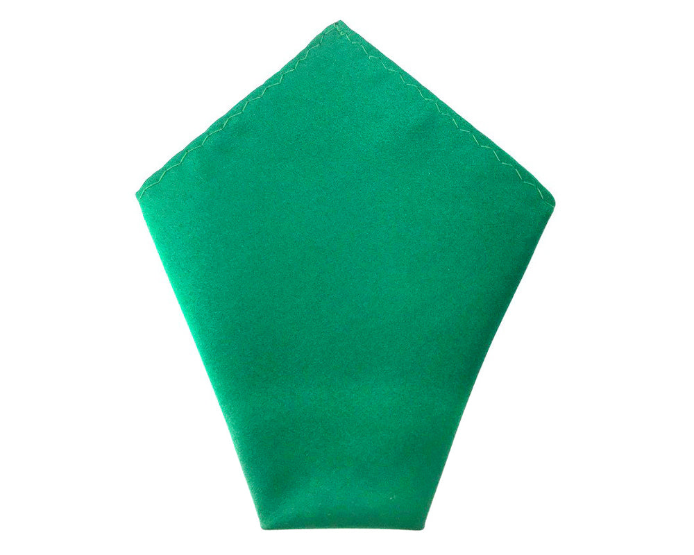 wedding green pocket square