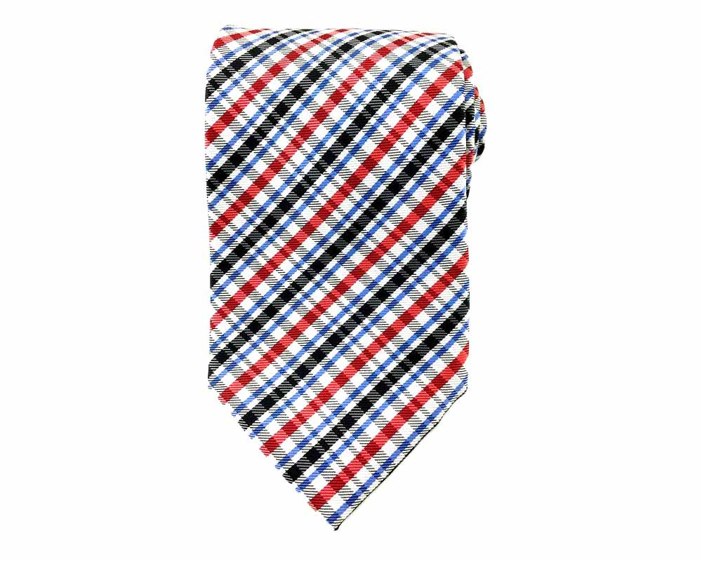 red black stripe tie
