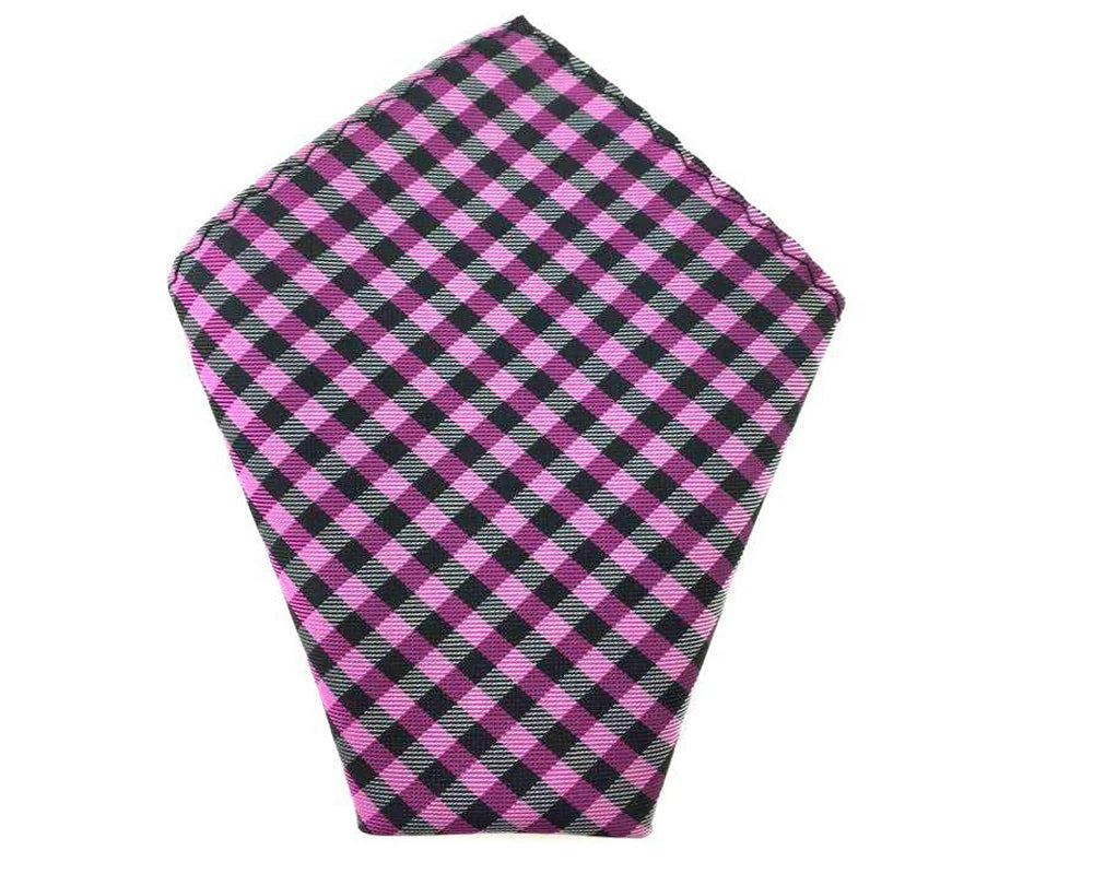 checkered wedding hankie