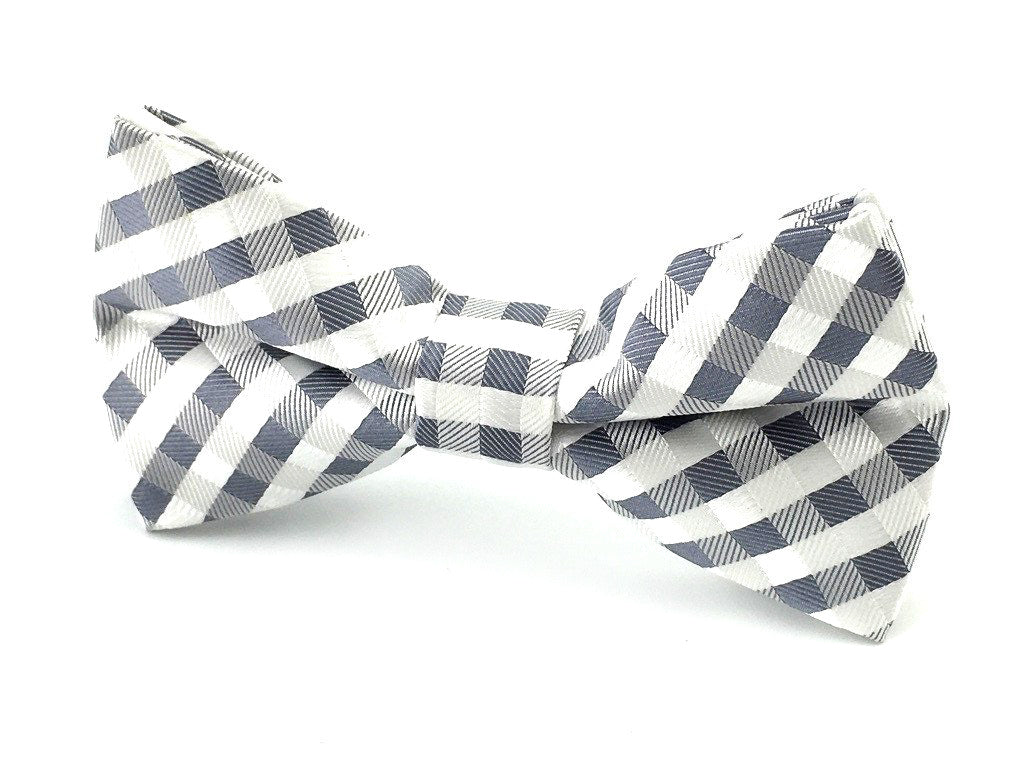 wedding check bow ties