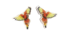 Load image into Gallery viewer, Macaw Small Post Earrings