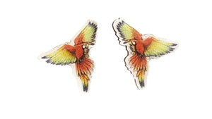 Macaw Small Post Earrings