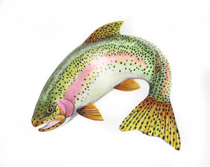 Rainbow Trout Original Painting