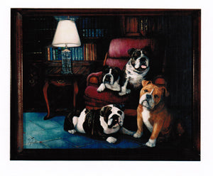"Original Painting Titled ""The Lawyers"""