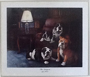 The Lawyers: Limited Edition Print Framed or Unframed
