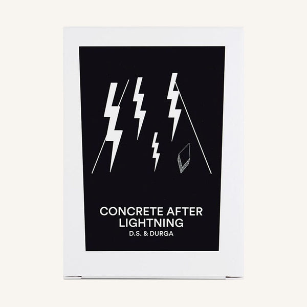 Concrete After Lightning Candle