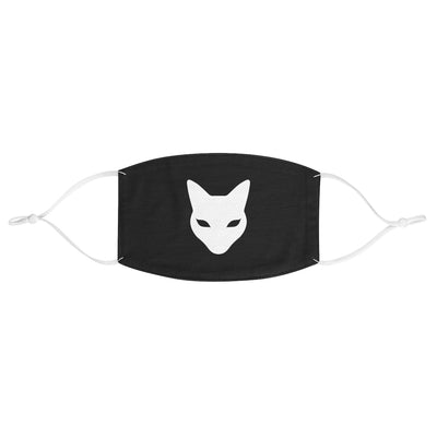 Fabric Face Mask with Superbe Cat Logo