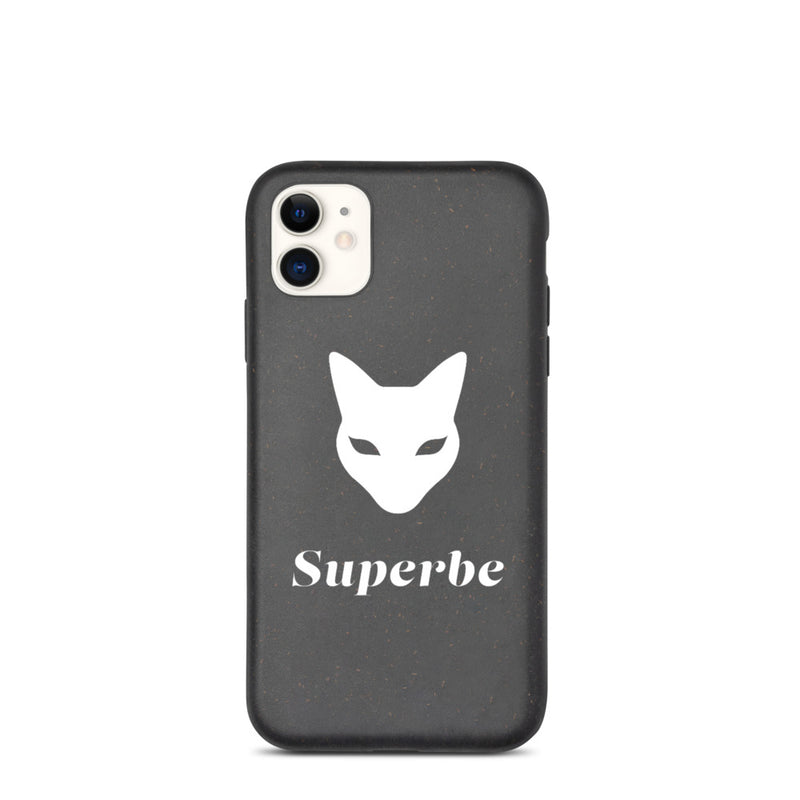Biodegradable iPhone case with Superbe Logo