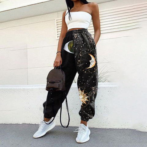 Printed Casual Sweatpants Joggers