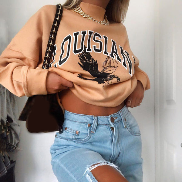 Fashion 'LOUISIANA' Sweatshirt