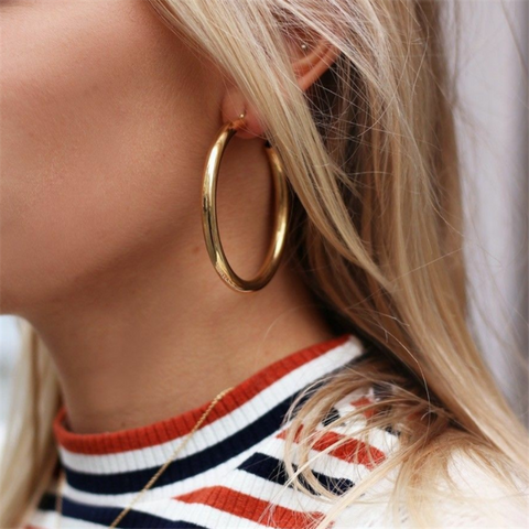 Stephanie Alloy Earrings