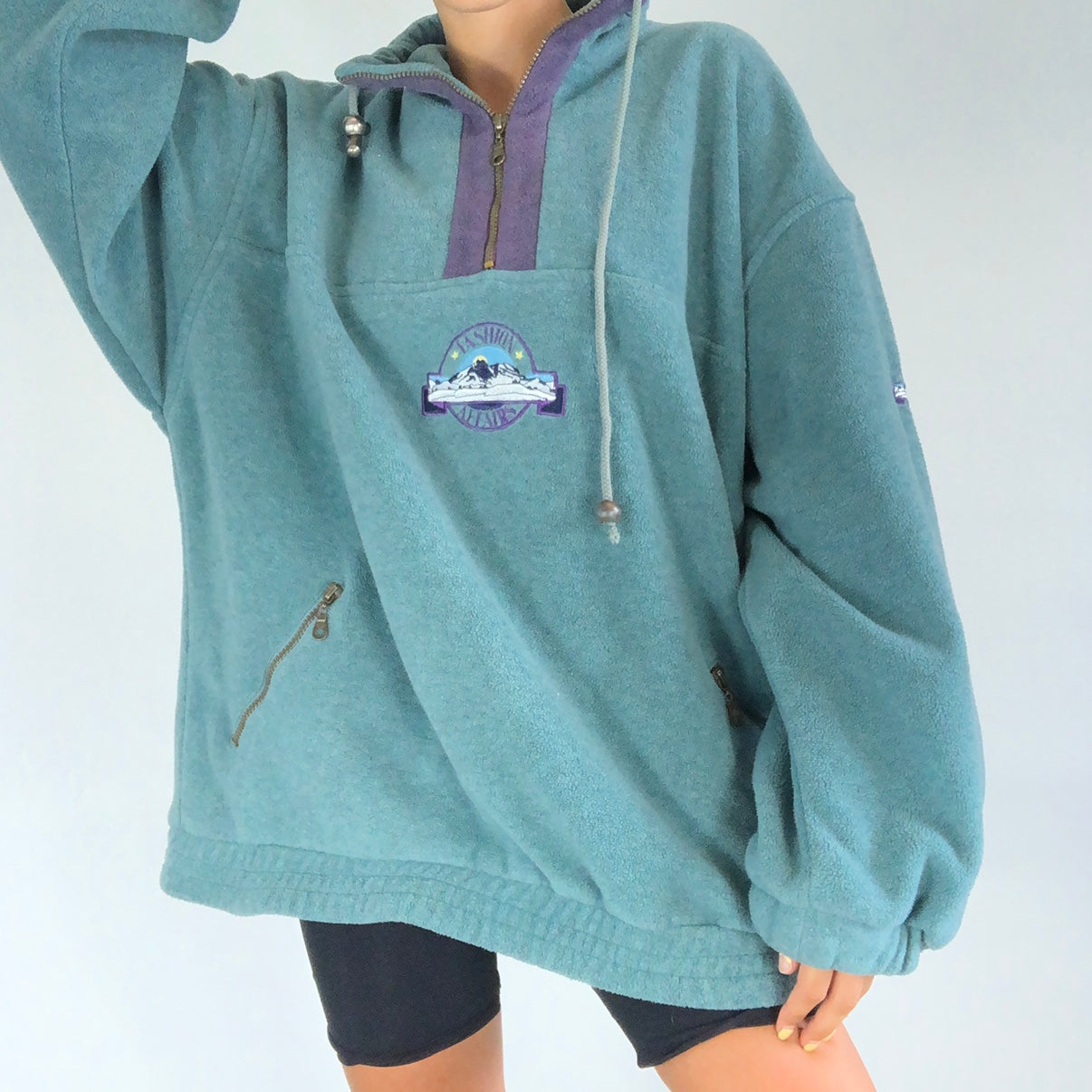 All-match loose casual hoodie