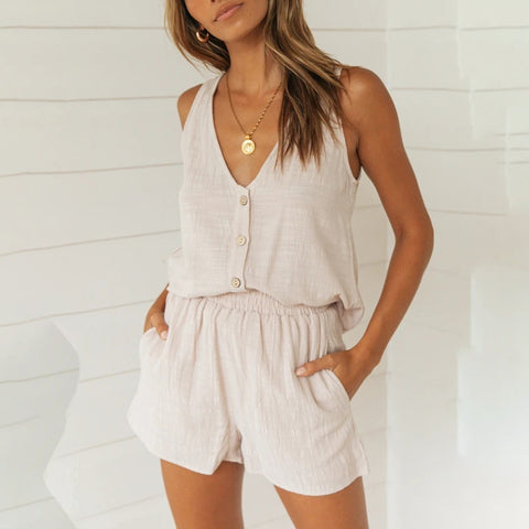 Marina Casual Shorts Set