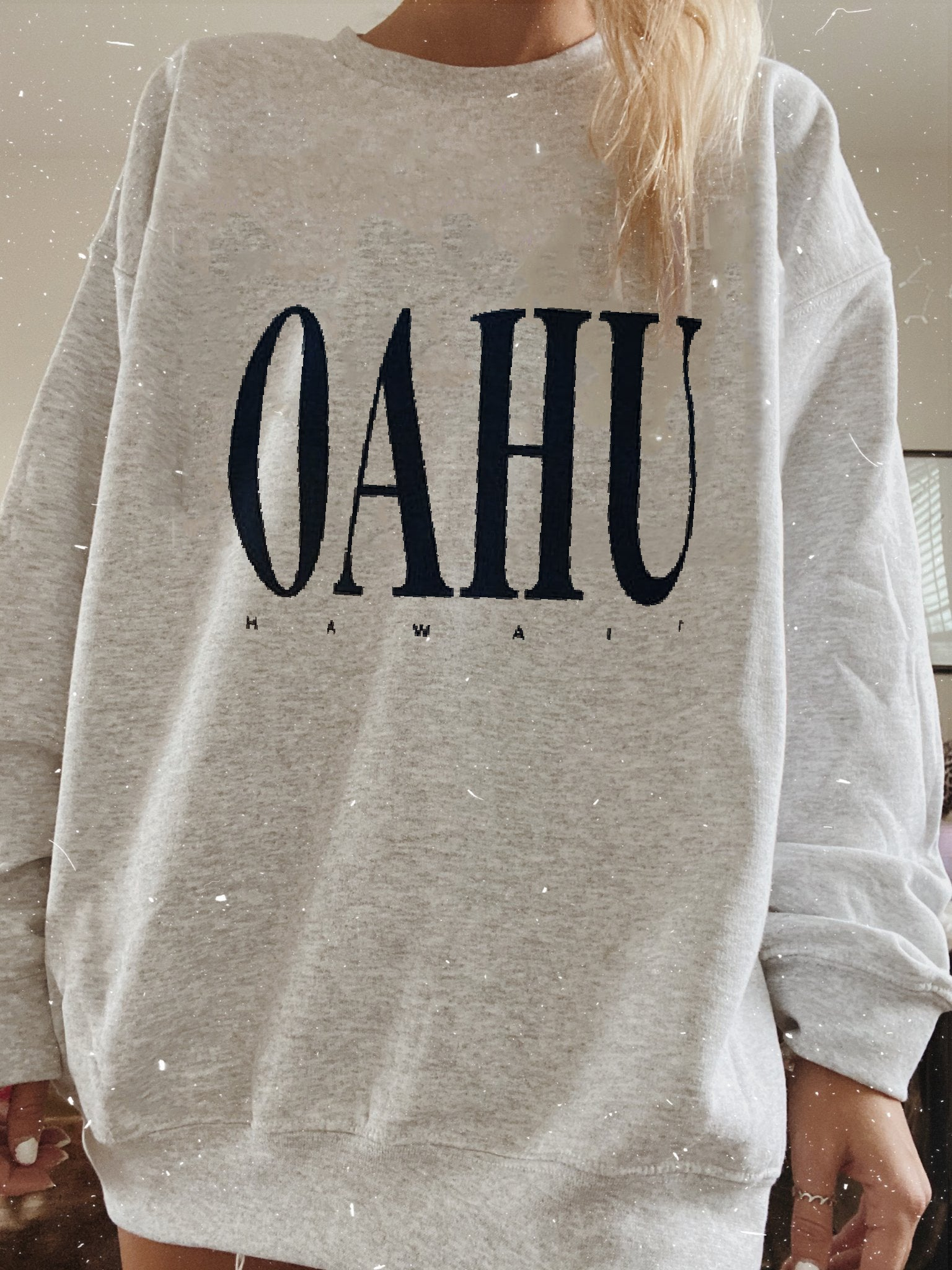 Casual OAHU HAWAII Sweatshirt
