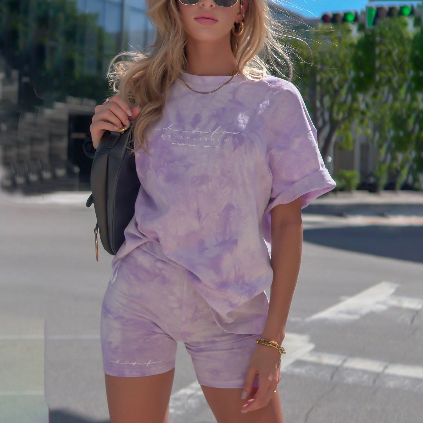 Fashion Casual Tie-dye T-shirts