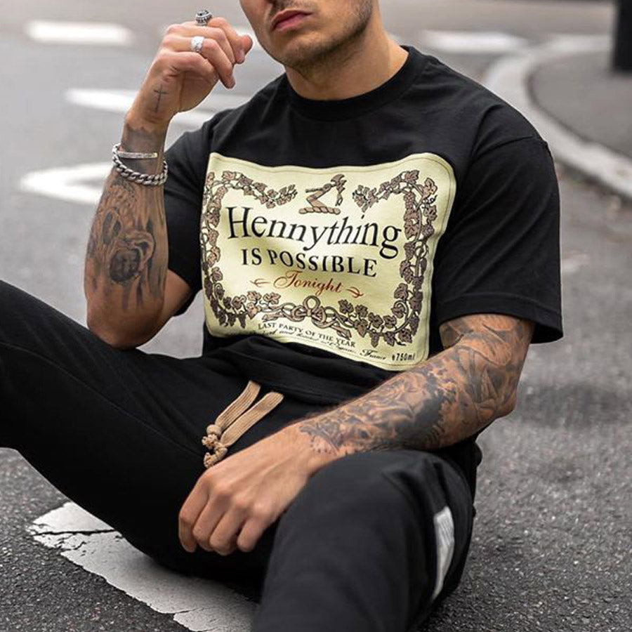 Men's Hennything is Possible T-shirt