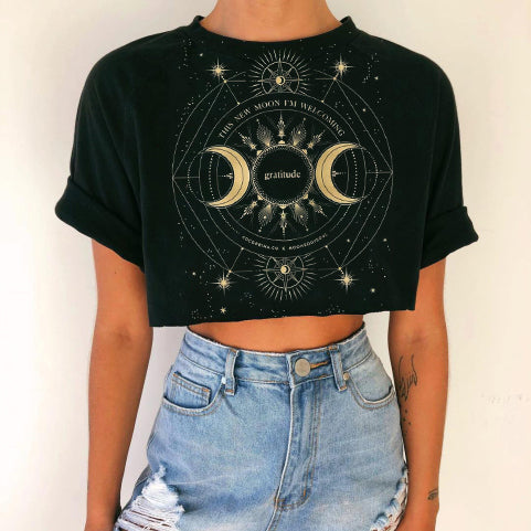 New Moon Crop Top
