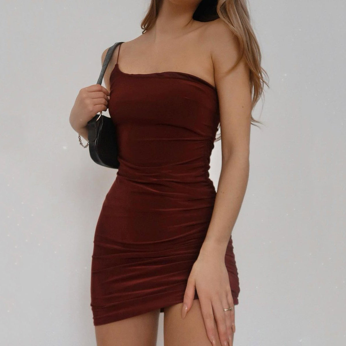 Now Or Never One Shoulder Dress