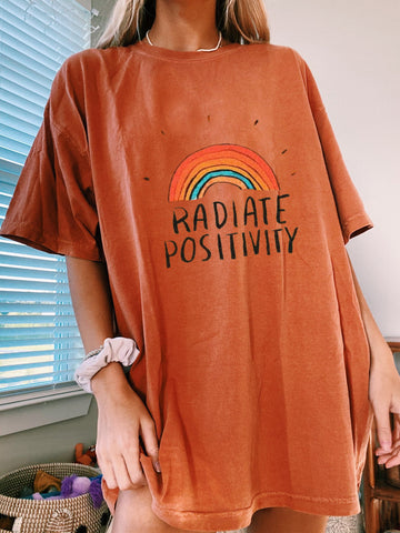 Vintage Radiate Positivity T-shirt