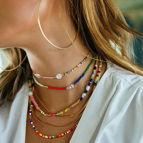 Ethnic Style Multi-layered Necklace