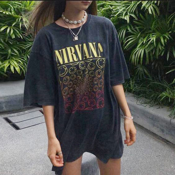 Vintage Fashion 'NIRVANA' T-shirt