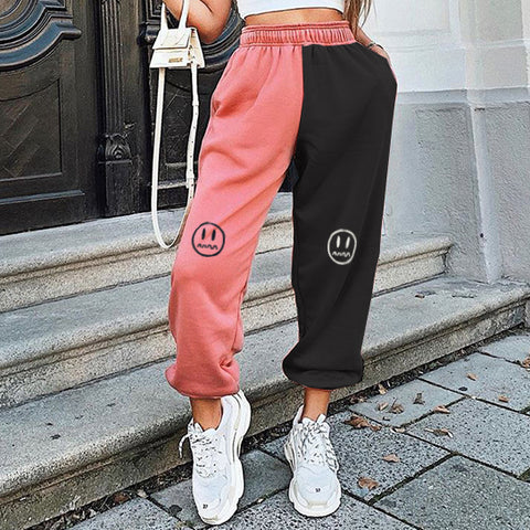 Fun Expression Sports Casual Joggers