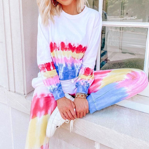 Keep The Vibe Neon Mirage Tie Dye Set