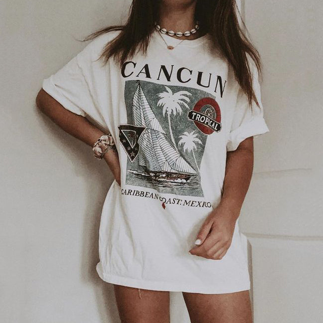 Casual 'CANCUN' T-Shirt