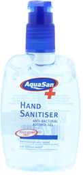250ml Hand Sanitiser Pump Bottle – Anti Bacterial Alcohol Gel