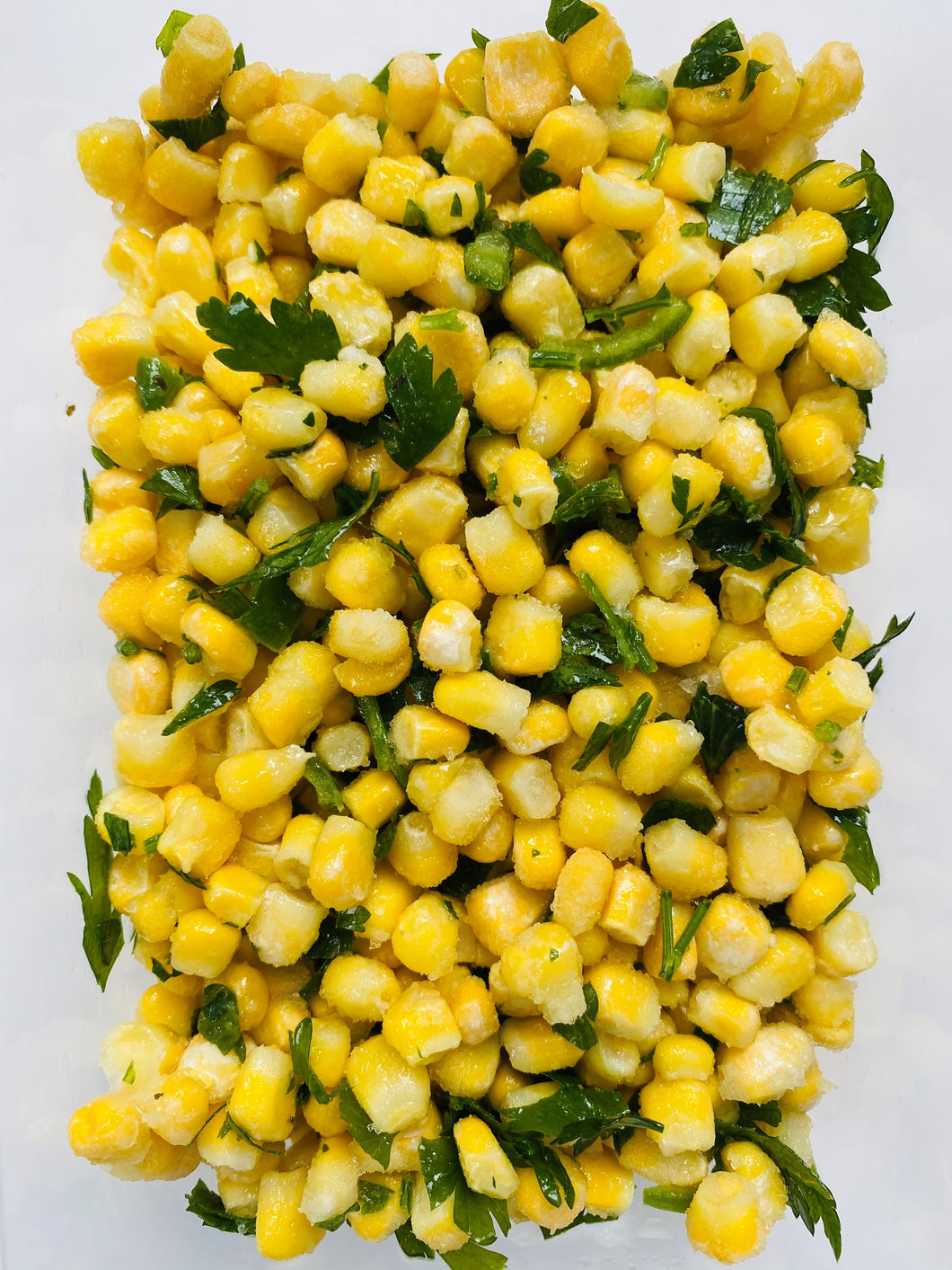 Sweetcorn & parsley salad - 480g