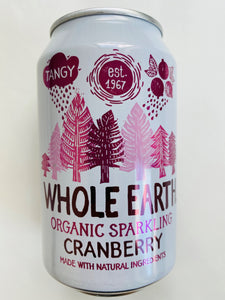 Wholeearth cranberry - 330ml