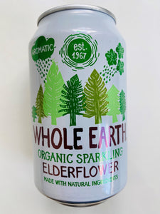 Wholeearth elderflower - 330ml