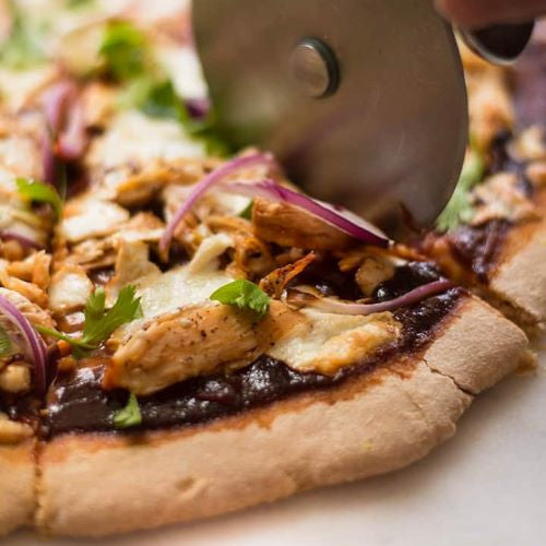 Chicken Barbeque Pizza