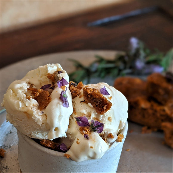 Lavender Honeycomb Ice Cream 500 ml