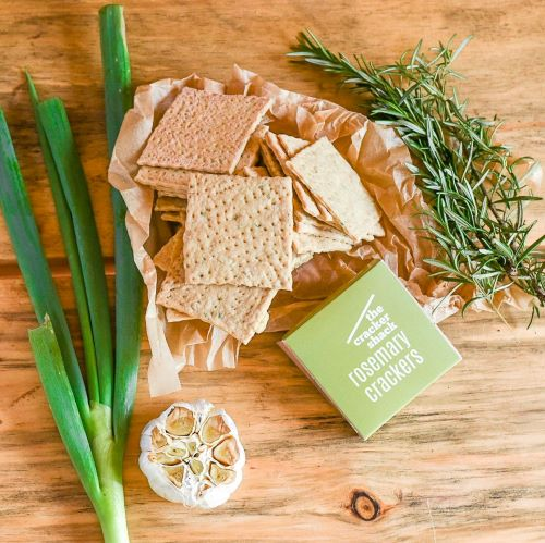 Rosemary Spring Onion Crackers 200 g