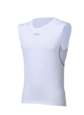 BBB Underwear Baselayer Sleeveless White