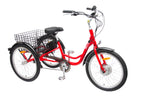 Tebco 708 Carrier Tricycle Red