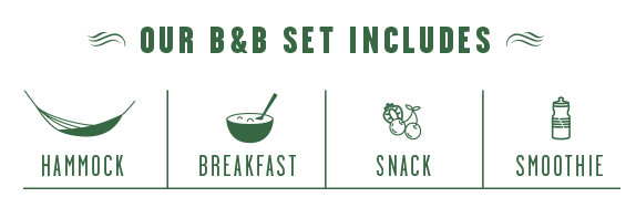 LYOFOOD Bed and Breakfast set includes