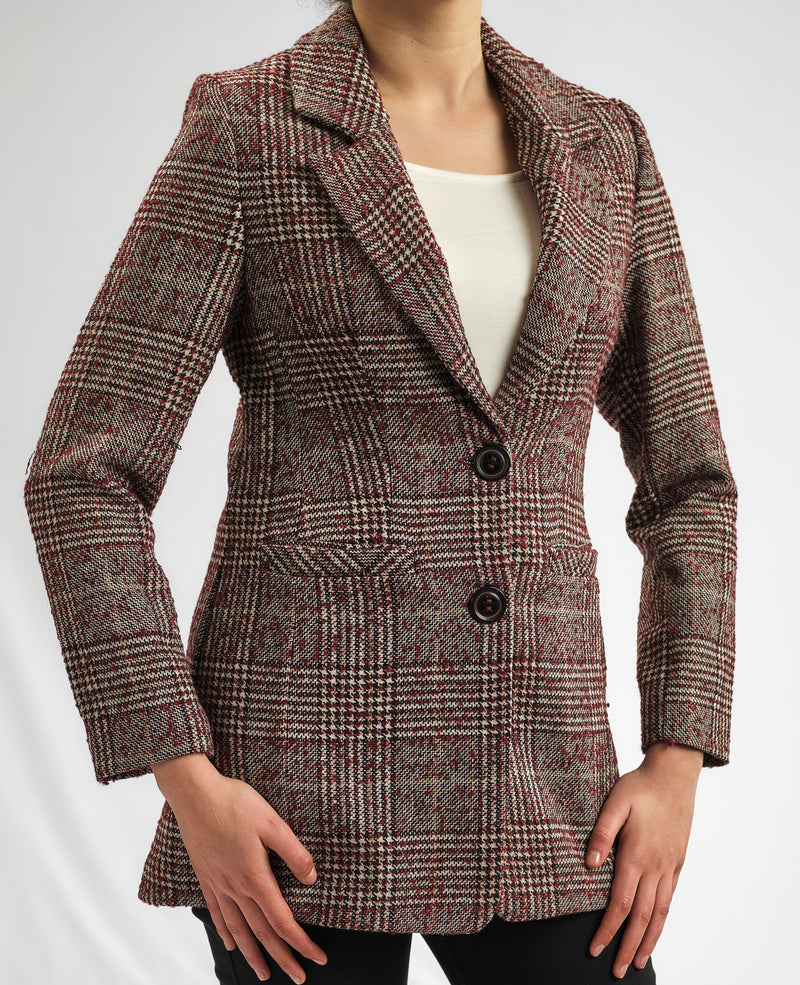 LIMITED EDITION: FINE WOOL JACQUARD TAILLURE JACKET