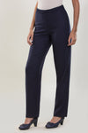BASIC MATT CREPE PANTS WITH WAIST FOR EXTREME COMFORT