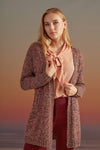COLORFUL AND LIGHT  KNITWEAR CARDIGAN