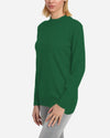 CASHMERE FEEL KNITWEAR BASIC BLOUSE
