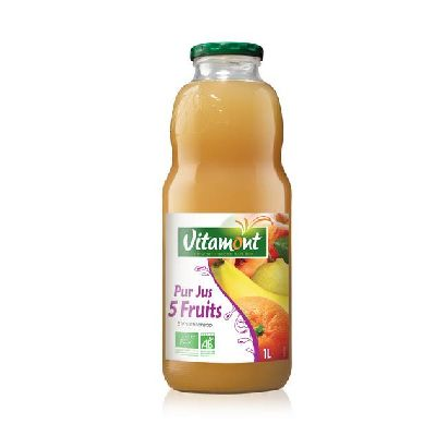 PUR JUS 5 FRUITS 1L
