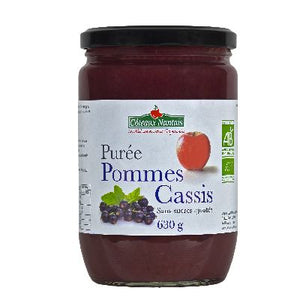 PUREE POMME CASSIS 630G