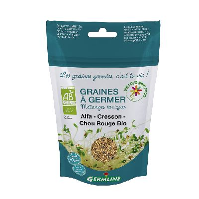 GRAINE A GERMER ALFA-CHOU ROUGE 150G