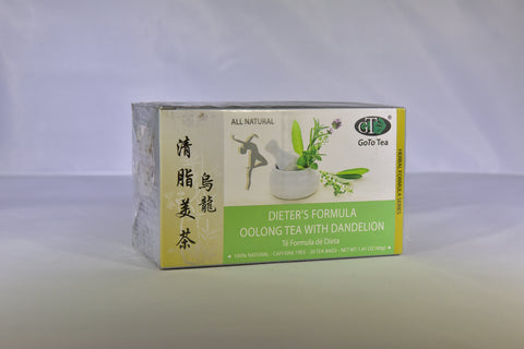 Dieter's Formula Oolong Tea with Dandelion