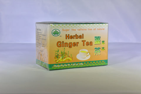 Herbal Ginger Tea (Unsweetened)