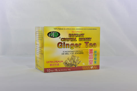 Instant Crystal Honey Ginger Tea (Extra Strength)